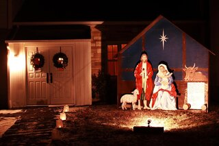 Conklin Forks UMC Nativity Scene