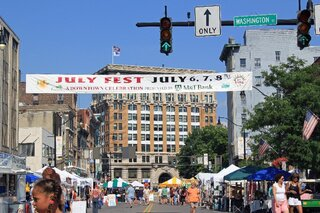 Sunday Scenes From Inside The July Fest