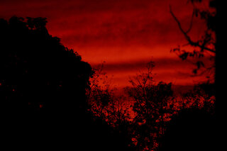 Red at night...sailors delight