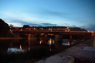Night time on the Chenango