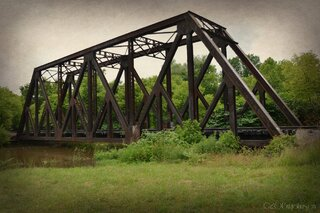 Railroad Trestle in Norwich
