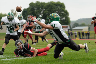 NV Cardinals shutout Greene HS Football