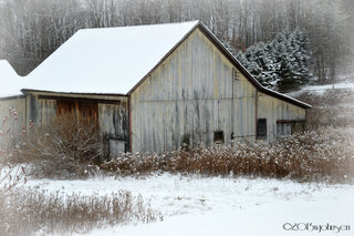 Old barn near Pittsfield NY