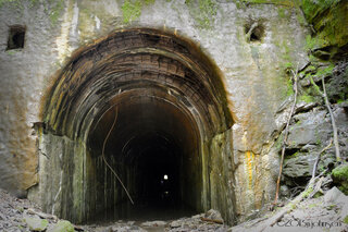 Zig Zag Railroad Tunnel