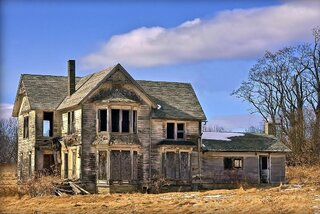 Spring Thaw at a Deserted House!