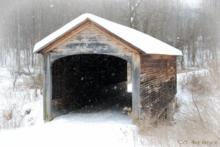 Hyde Hall Covered bridge