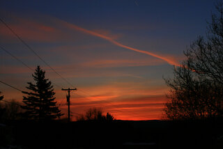 Beautifuul March 1st sunrise