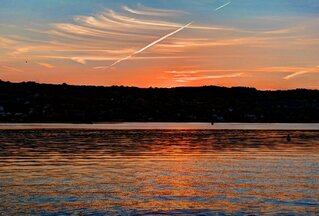 Keuka Lake Sunset!