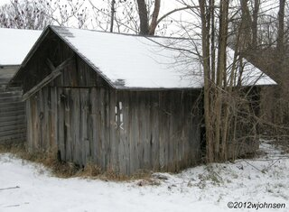 Old barn along the trail.