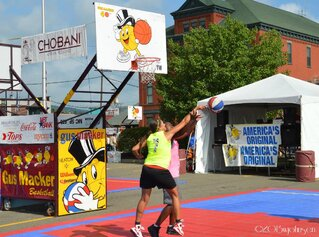 Gus Macker Basketball in Norwich