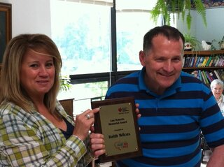 Local Stroke Survivor Recognized