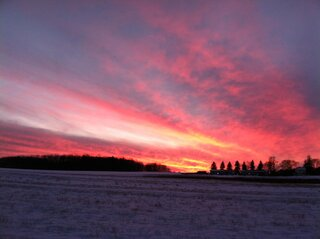 January 8, 2013 sunset