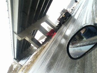 Accident on I88 under Afton overpass