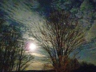 Moon & Clouds 3/10/12
