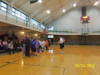 Basketball Tournament at Clarke's Gym
