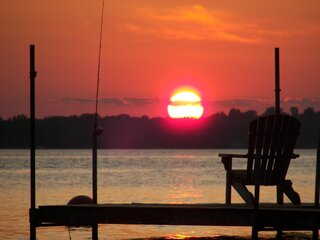 Sunset on Owasco Lake