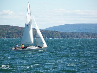 Touring Skaneateles Lake