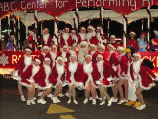the Radio Sidney Rockettes at the Parade