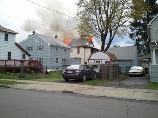 House fire at 769 State Street