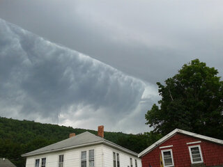 Storm Front Clouds in Owego