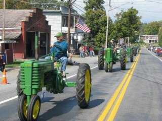 Sidney Center Tractor Parade