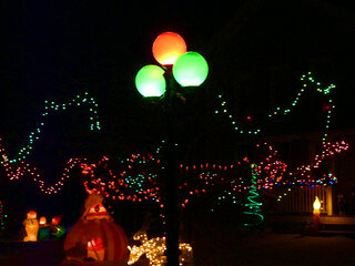 Triangle Holiday Lights