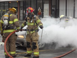 Car fire at Nimmonsburg Square 4/1