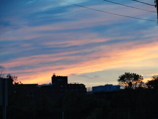 GREAT SUNSET IN BINGHAMTON