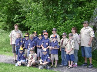 Local Cub Scouts