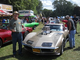 Corvette -Best of Show at Spiedie Fest