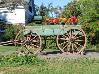 A old country wagon!