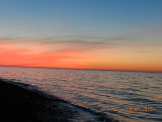 Sunset Lake Ontario
