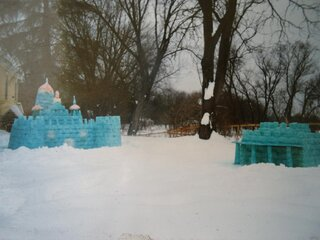 snow castles from the past