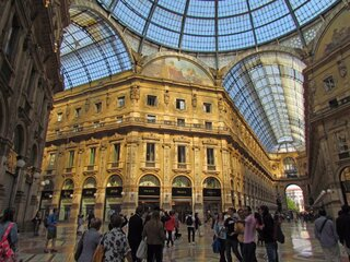 Elegant Shopping in Milan, Italy