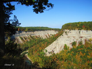 Fall Splendor at Letchworth State Park