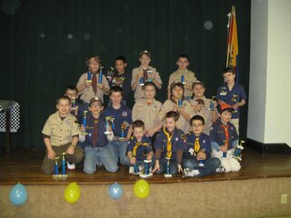 Pack 5 Blue and Gold Dinner
