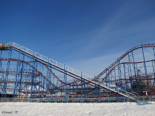 The Amusement Park on a winter's day