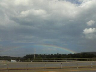 Rainbow over Sidney 7-5-13