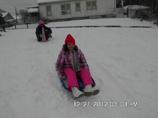 Sledding Fun in Endicott