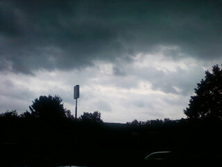 Big nasty storm clouds