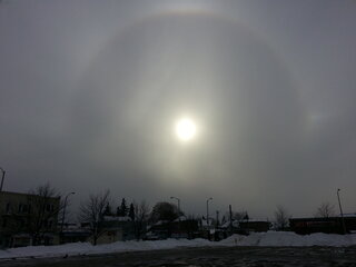 The Sun Gets a Halo