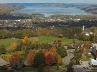 Fall Colors of IC Campus and Cayuga Lake