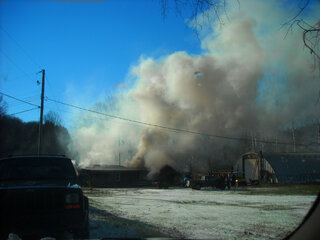 House Fire In Steven's Point P.A,