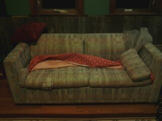 OUR UGLY COUCH