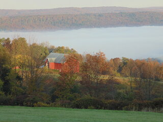 Chenango Lake autumn
