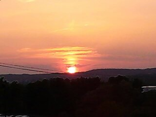 Sunset in Vestal