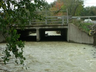 2011 Flood pictures of Route 26