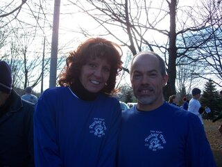 The Briggs' at Turkey Trot 2012
