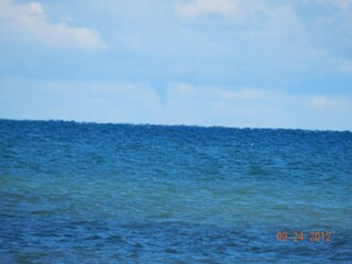 Multiple Waterspouts over Lake Ontario