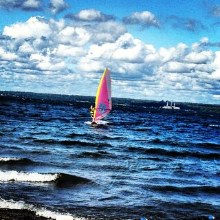 Sailing on Seneca Lake